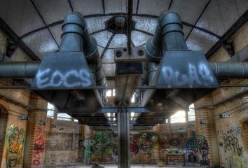 Keuken foto achterwand Oud Ziekenhuis Beelitz Abandoned kitchen in beelitz