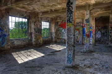 Wall Mural - Abandoned place