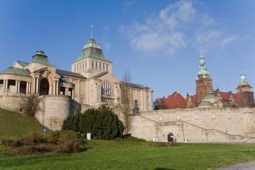 Wały Chrobrego - Szczecin Fototapete