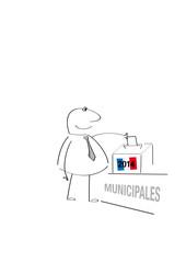 élection municipale France 2014