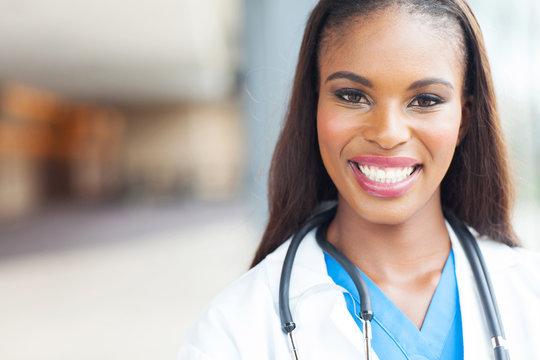 african female nurse