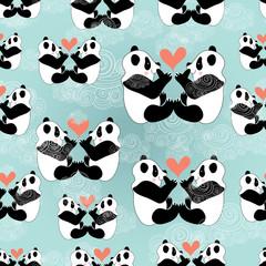 texture panda lovers