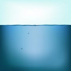 Vector still water background