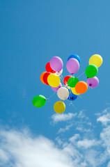 Aufsteigende Ballons