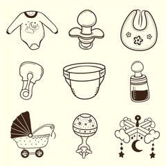 Baby icon Collection