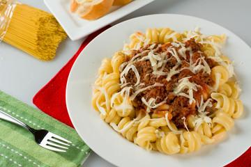 Tomato Meat Pasta