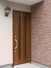 戸建て住宅の玄関