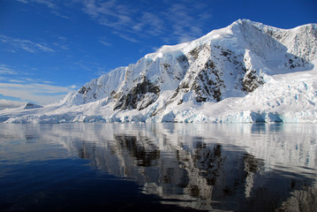 Fototapete - landscape in antarctica