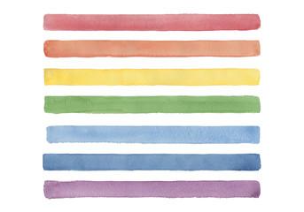 虹色のライン
