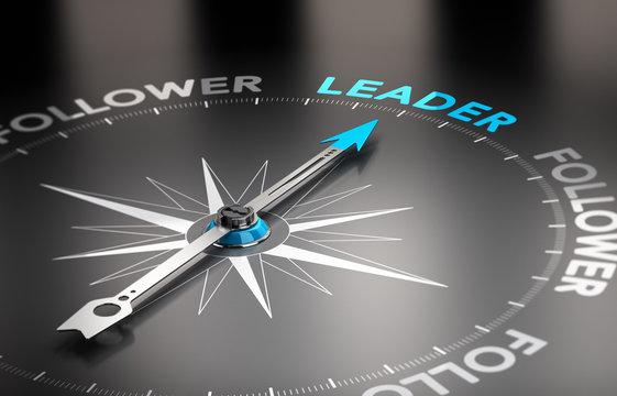 Leader vs follower concept