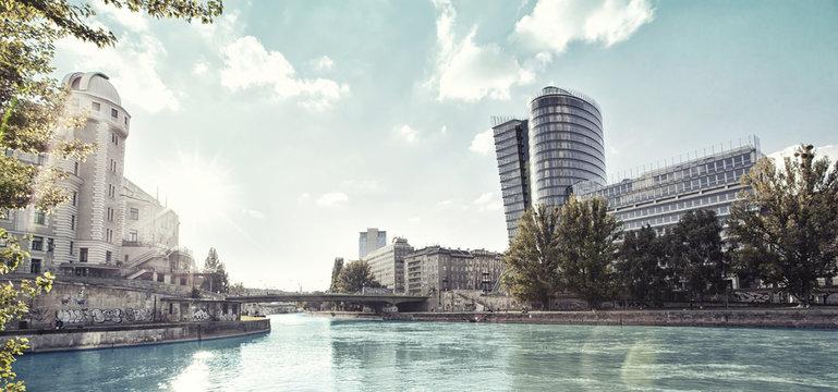Danube Canal of Vienna - Austria