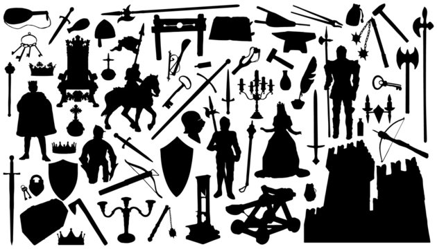 medieval_silhouettes