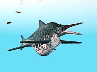 Ichthyosaurier Shonisaurus