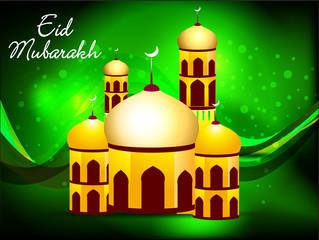 green eid background