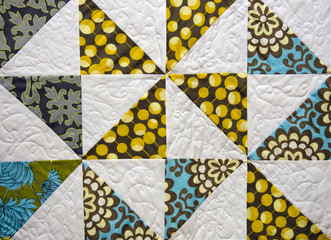 old patchwork quilt