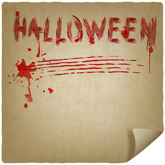 halloween scratched background