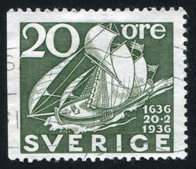 Old Sailing Packet