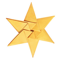 Christmas celebration golden star