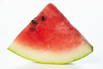 Slice watermelon a