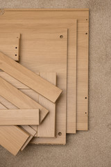 Pieces of Flat Pack Furniture