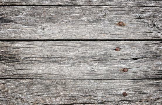 Sfondo assi li legno western con chiodi