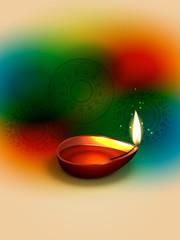 vector happy diwali design