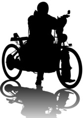 Fotomurales - Old bike