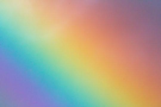 A real rainbow