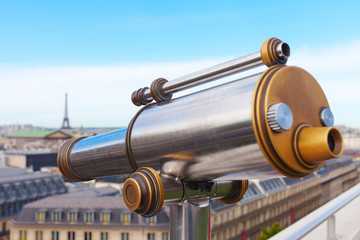 Parisian telescope.