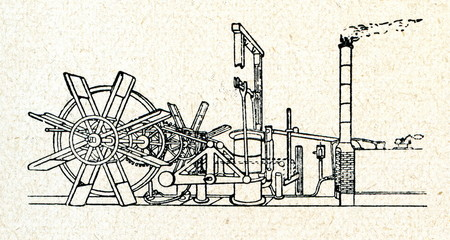 Engine of North River Steamboat (Clermont)