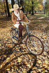 jesienna wycieczka rowerowa