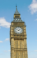 Big Ben in Westminster.