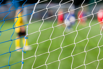 Siatka bramki w piłce nożnej