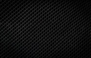 black plastic  net