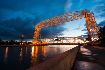 Aerial Lift Bridge