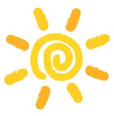 Sun painting