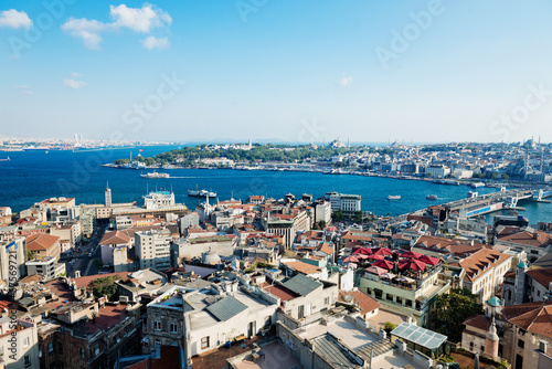 Fototapete Istanbul View from Galata tower