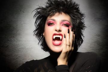 Beauty Vampire Girl