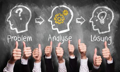 Problem, Analyse und Lösung