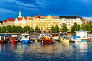 Tuinposter Scandinavië Helsinki, Finland
