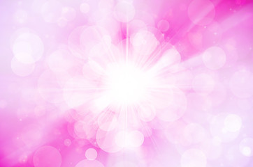 pink bokeh abstract background