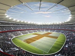 Fotobehang - Stadion England