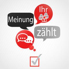 bulles rouge gris : stimme deine zahlt (allemand)