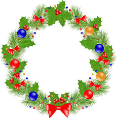 Christmas Wreath insulated