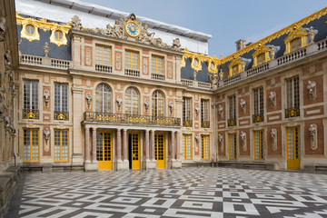 Acrylic Prints Artistic monument Versailles Palace Entrance