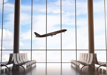 Aluminium Prints Airport airport interior