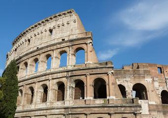 Colosseum Landscape Close-Up