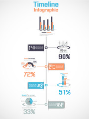 INFOGRAPHIC TIMELINE PERCENTAGE NEW STYLE