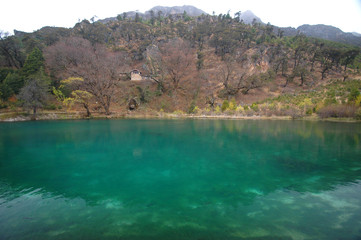 a lake in Lijiang