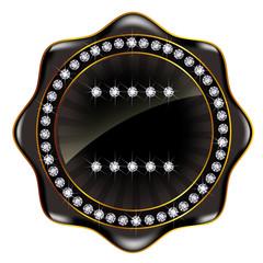 メダル フレーム 黒